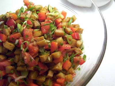 WELL FED: ROASTED SWEET POTATO SALSA